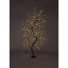7ft outdoor led zig zag cherry blossom tree warm white led