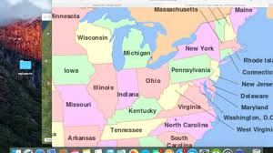 Map Of Usa States With Names by Mandela Effect States Are Changed Youtube