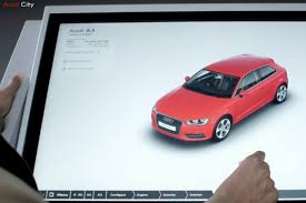 audi digital showroom technology is latest battlefront in luxury autos digital adage