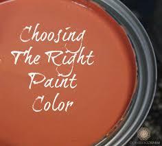 design tip choosing paint color domestic charm
