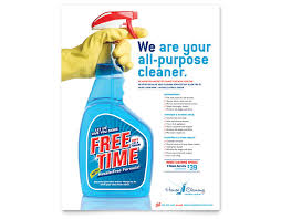 commercial cleaning brochure templates 15 cool cleaning service flyers printaholic