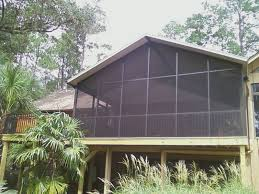 Glass Patio Fencing Florida Fence U0026 Screen Florida Screen Rooms Commercial