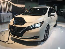 nissan leaf apple carplay ihs markit automotive blog japan united states nissan reveals