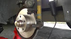 vw golf rear bearing and brake diy youtube