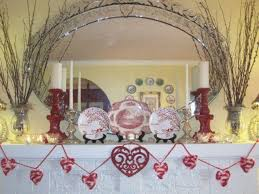 Decorate Mantel For Valentines Day by Valentines Day Mantel Decor Mantel Holiday Decoration Decor Ideas