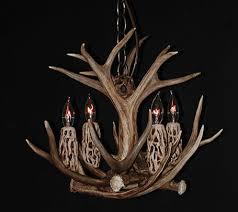 Authentic Antler Chandelier Mule Deer Antler Chandeliers Antlers By Cody