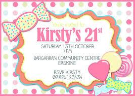 simple and lovely 21st birthday invitations birthday invitation