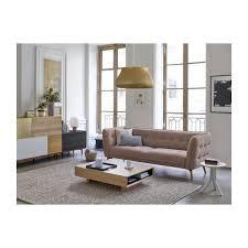 habitat canapé 2 places como canapé 2 places en tissu bellagio organic green et pieds en