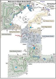 Oregon Lakes Map resort map black butte ranch howells realty group
