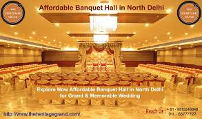 affordable banquet halls which suppliers best for affordable banquet in delhi