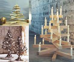 Mini Christmas Tree Crafts - the biggest green decor idea for eco friendly christmas
