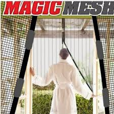 Mosquito Net Curtains by New Magic Mesh Hands Free Screen Net Magnetic Anti Mosquito Bug