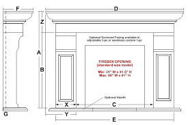 Standard Fireplace Dimensions by Belford Classic Stone Fireplace Mantel Mantelsdirect Com