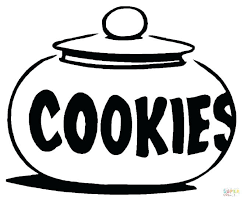 Cookies Coloring Page Pages Intended For Cookie With Regard To Coloring Cookies