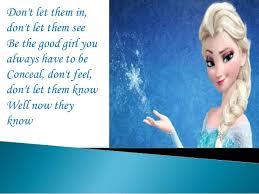 let it go let it go lyrics idina menzel