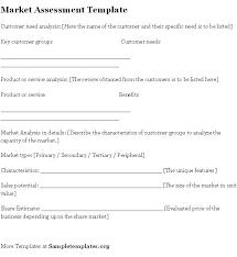 assessment templates 7 best sample assessments images on pinterest templates