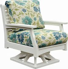 Swivel And Rocking Chairs Solid Poly Resin Outdoor Rocking Chairs Classic Terrace Swivel