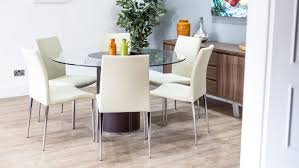 kitchen table round 6 chairs round glass dining table for 6 brilliant tables and chairs within 3