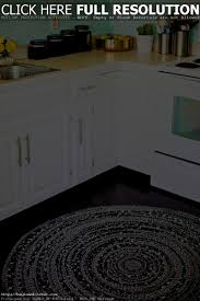 Damask Kitchen Rug Accessories Terrific Black And White Kitchen Design For Your