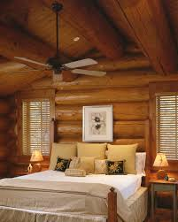 Pergola Ceiling Fan by Astonishing Rustic Bedroom Ideas With White Colored Bed Linen