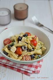 cuisiner les pates salade de pâtes à la grecque cuisiner tout simplement le