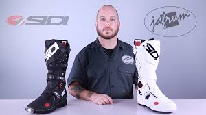 sidi motocross boots sidi crossfire 2 motorcycle boots review at jafrum com youtube