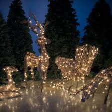 Outdoor Christmas Decorations Sale by Topiary And Grapevine Reindeer On Sale
