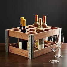 Crate And Barrel Bar Cabinet Wine Racks Crate And Barrel