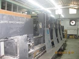 used printing machinery