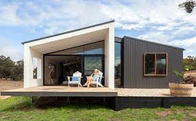 outdoor areas prefab steel cladding and architects