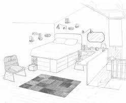 dessin chambre beautiful dessin d une chambre en perspective 6 comment dessiner 3d