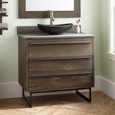 Dark Brown Changing Table by Brown Wood Vanity Signature Hardware