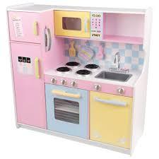 cuisine pastel grande cuisine pastel de kidkraft cuisines jouets best buy canada