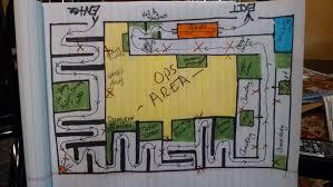 floorplan layout help does anyone a floorplan layout of haunted house maze