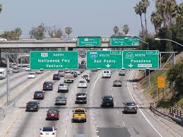Caltrans Traffic Map U S Highway Route 101 Between Hollywood Freeway In Los Angeles