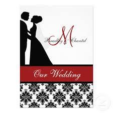 Red And Black Wedding Invitations 20 Best Black White And Red Wedding Invitations Images On