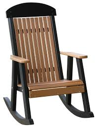 Luxcraft Porch Rocker Amish Yard Deck Chairs Amish Merchant