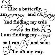 like a butterfly wall decals stickers words quotes lettering