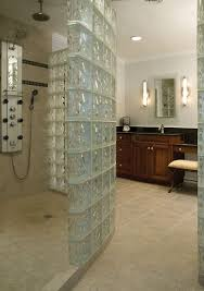 bathroom stunning basement bathroom decoration with glass block