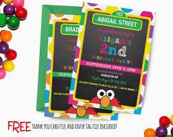 design sophisticated elmo 1st birthday party invitation wording
