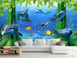 photo wall murals wallpaper fashion 3d home decor beautiful dream photo wall murals wallpaper fashion 3d home decor beautiful dream seabed fairyland 3 d tv setting wall dolphins wallpaper picture hd wallpaper pictures from