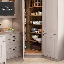corner kitchen pantry cabinet corner kitchen pantry the lansbury by masterclass kitchens