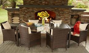 Overstock Patio Umbrella Tips On Shopping A Patio Furniture Clearance Sale Overstock