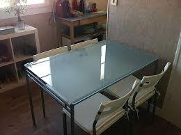 plateau bureau verre ikea bureau verre ikea medium size of grand noir blanc et charming oslo