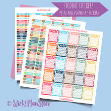 printable organization quiz for students student organization printable planner stickers instant download