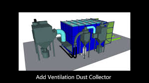 abss panel blast room with recovery system u0026 ventilation dust