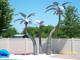 metal palm trees outdoor outdoor designs