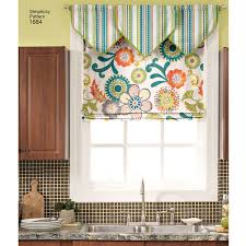 Roman Shades Valance Pattern For Roman Shades And Valances Simplicity