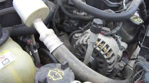 diy ford windstar freestar serpentine belt replacement youtube