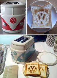 Bread Shaped Toaster Flower Power Bread Warmers Vw Hippie Van Toaster